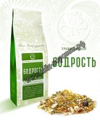 """""""Бодрость"""" Травяной чай,100г"""