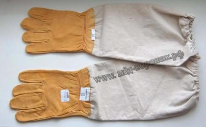 Перчатки кожзам