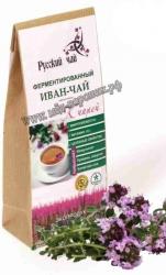 Ферментированный иван-чай с чабрецом 75г.