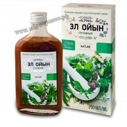 Альпина «Эл Ойын» суставной Бальзам медово-растительный, бут. стекло, 250 мл