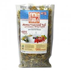 Чай монастырский «Для очистки печени» (№5),100гр