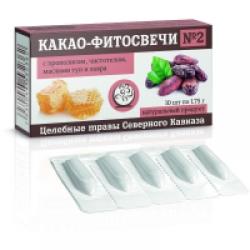 "Какао - фитосвечи №2 ""Противоонкологические"""