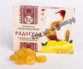 Леденцы с живицей кедра и прополисом. С лимоном и мёдом , 10 шт по 3.2 гр.