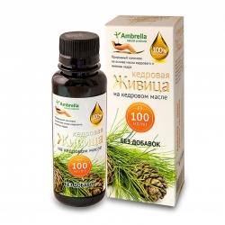 Живица кедровая (30%) на кедровом масле без добавок,100мл