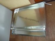 Арматура солнечной воскотопки на 1 рамку, оцинкованная
