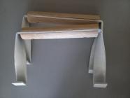 Ручки (с деревянной вставкой)для переноса куботейнеров 2 шт